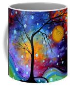 Winter Sparkle By Madart Coffee Mug by Megan Duncanson