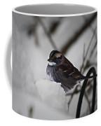 Winter Sparrow Coffee Mug