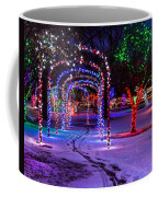 Winter Spirit At Locomotive Park Coffee Mug