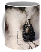 Winter Steam At Rockwood Colorado Coffee Mug