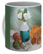 Winter Still Life Coffee Mug by Angeles M Pomata