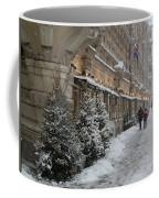 Winter Stroll In Helsinki Coffee Mug