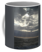 Winter Sun At Sea Coffee Mug