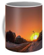 Winter Sun Glow Coffee Mug
