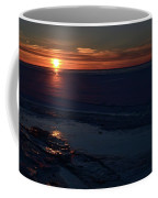 Winter Sunrise At Lake Simcoe  Coffee Mug