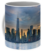 Winter Sunrise New York City Coffee Mug