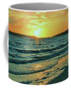 Winter Sunset At Wellfleet Harbor Coffee Mug