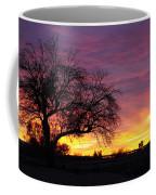 Winter Sunset Coffee Mug