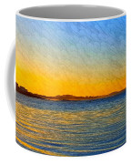 Winter Sunset Over Ipswich Bay Coffee Mug