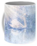 Winter Swan Coffee Mug