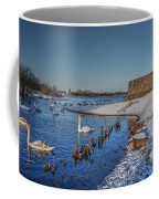 Winter Swan Lake Coffee Mug
