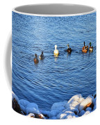 Winter Swim Coffee Mug