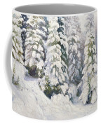 Winter Tale Coffee Mug by Aleksandr Alekseevich Borisov