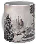 Winter Thermal Steam - Yellowstone Coffee Mug