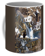 Winter Time At The Falls Coffee Mug