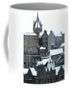 Winter Townscape Scotland Coffee Mug