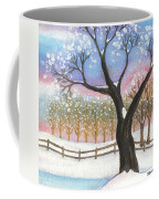 Winter Tree Landscape Coffee Mug