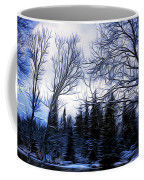 Winter Trees In Sweden Coffee Mug