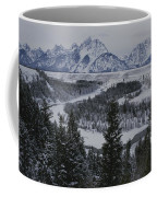 Winter View Of The Snake River, Grand Coffee Mug