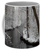 Winter Walk In The Woods Coffee Mug
