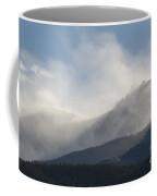 Winter Wind On Pikes Peak Colorado Coffee Mug
