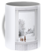 Winter Window Coffee Mug