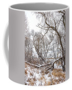 Winter Woods On A Stormy Day 2 Coffee Mug
