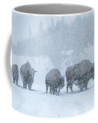 Winter's Burden Coffee Mug by Sandra Bronstein