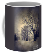 Winter's Dark Thoughts Coffee Mug