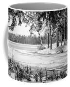 Winter's Tropical Landscape Coffee Mug