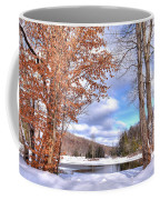 Winters Window Coffee Mug