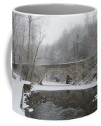 Wintertime In The Wissahickon Valley Coffee Mug