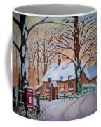 Wintry Evening Coffee Mug