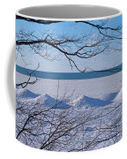Wintry Lakeshore Coffee Mug