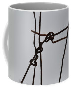 Wire And Snow Coffee Mug