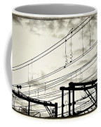 Wires And Coils Silhouette Coffee Mug