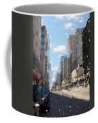Wisconsin Ave Cubist Coffee Mug