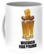 Wisconsin Food Pyramid Coffee Mug