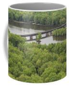 Wisconsin River Overlook 2 Coffee Mug
