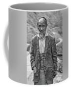 Wisdom - A Year Later Bw Coffee Mug