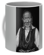 Wisdom Monochrome Coffee Mug