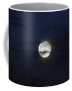 Wisps And A Full Moon Coffee Mug