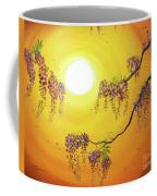 Wisteria In Golden Glow Coffee Mug