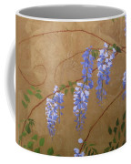 Wisteria Coffee Mug by Leah  Tomaino