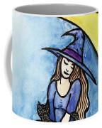 Witch And Moon Coffee Mug