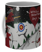 Witches Valentine's Day Coffee Mug