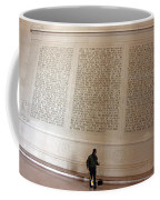With Malice Toward None With Charity For All -- President Lincoln's Second Inaugural Address Coffee Mug
