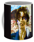 With The Wind In Her Hair Coffee Mug