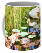 Withered Lotus In The Pond 2 Coffee Mug