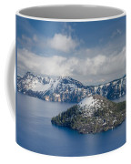 Wizard With Partial Snow Mantle Coffee Mug